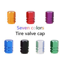 4x Car Air Wheel Truck Tyre Valve Dust Caps Covers Aluminium For BMW VW Gold UK