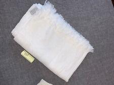 "Restoration Hardware Linen Gauze Throw, White, 52"" X 70"" - 0310"