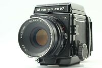 【NEAR MINT】 Mamiya RB67 PRO S & Sekor C 127mm f/3.8 Lens 120 Film Back Japan