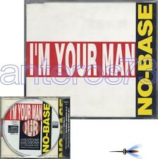 "NO-BASE ""I'M YOUR MAN"" RARE CDM ITALO - GEORGE MICHAEL"