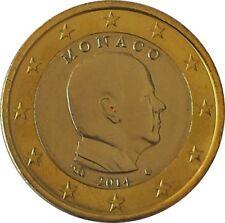 PIECES DE 1 ET  2 EURO  2014 MONACO SORTIES DU BU DANS LEUR ETUI
