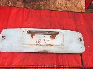 Triumph TR3, Original Spare Tire Cover, !!