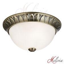 plafonnier Ø28 laiton or blanc verre plafonnier CLASSIQUE LUMINAIRE LAMPE