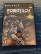 Robotech Battlecry Sony PlayStation 2 Ps2 Video Game Complete With Manual