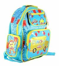 Play-Doh Playdoh Junior Deluxe Padded Rucksack Backpack School Bag, 3 pockets