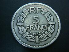 France 5 Francs 1952 , Scarce key Date Coin