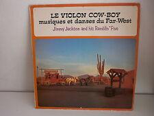 JIMMY JACKSON AND HIS RAMBLIN FIVE Le violon cow boy SFP 55017