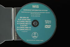 2012 SAAB WIS 900 9-2X 9-3 9-4X 9-5 Workshop Service Repair Wiring Manual 64 bit