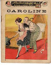 COLLECTION VAUDEVILLE 6 (ROMANS D'AMOUR GRIVOIS) CAROLINE