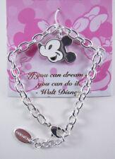 Disney Jewelry Enamel Mickey Face Bracelet