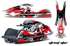 AMR RACING JET SKI GRAPHICS DECALS WRAP KIT KAWASAKI JETSKI 800 SX/R STAR RED