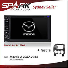 CT FOR MAZDA 2 GPS DVD SAT NAV IPOD BLUETOOTH USB SD NAVIGATION STEREO 2007-2014
