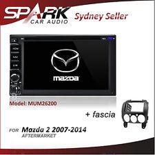 CT CARPLAYER / ANDROID AUTO FOR MAZDA 2 GPS DVD SAT NAV BLUETOOTH 2007-2014