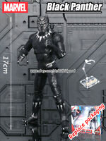 "Black Panther Marvel Avengers Legends Comic Heroes 7"" Action Figure Collect Toys"