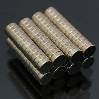 100pcs N52 Neodyme Magnet Puissant Cylindre Neodymium Disque Magnetique 5x2mm
