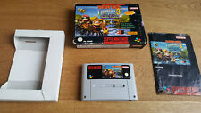 Donkey Kong Country 3 Dixie Kong trouble-SNES super nintendo COMPLET CIB NEUF dans sa boîte