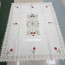 new cute cute clean dining table cloth not much choice