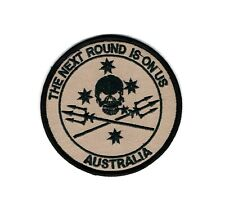"Australian Army TAG East  ""The Next Round is on Us"" patch"