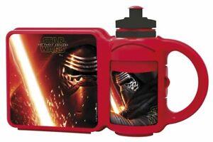 Star Wars Combo Lunchbox And Drinks Bottle kids school lunch box water bottle