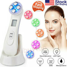 EMS RF LED Light Therapy Facial Beauty Device Photon Skin Rejuvenation Machine