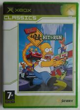 XBOX - Simpsons: Hit & Run, The (PAL) Classics FACTORY SEALED