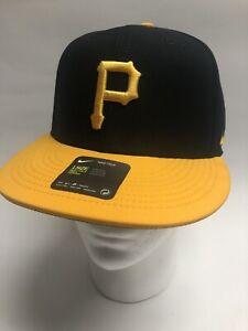 Nike Aerobill Pittsburgh Pirates Hat Baseball ⚾️ Adjustable Cap Black Yellow 👍