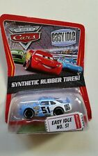 CARS Disney pixar cars EASY IDLE nr.51 synthetic rubber tires ! 1/55 mattel