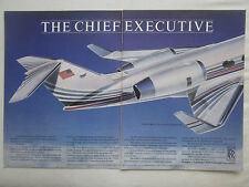 9/1985 PUB ROLLS-ROYCE TAY ENGINE GULFSTREAM IV EXECUTIVE JET ORIGINAL AD