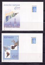 ESPAÑA SOBRE ENT.POST.1996 34 ESPAMER-96 AVIACION Y ESPACIO 2 SOBRES