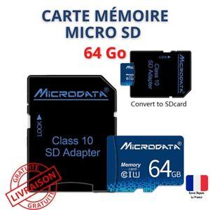carte memoire micro sd 64go