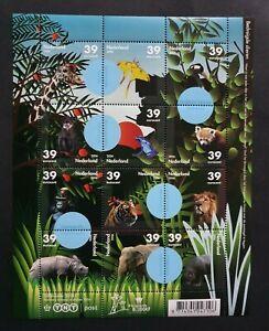 2006 NETHERLANDS NEDERLAND ENDANGERED ANIMALS ZOO BLIJDORP VF MNH POSTFRIS