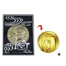Naruto the Movie THE LAST Theater Exclusive Naruto Medal Hinata Japan Import NEW