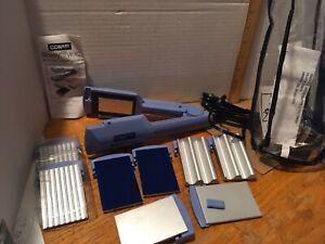 CONAIR SHINY STYLES 4 in 1 STRAIGHTNER (velvet), CRIMPER, WAVER, IRON BLUE