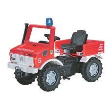Rolly-Toys MB Unimog Feuerwehr m. Schaltung u. Bremse u. Blaulicht 036639