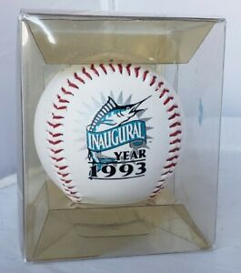 1993 Florida Marlins Inaugural Season Genuine MLB Commemorative Promo Baseball