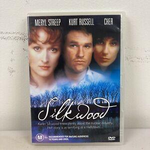 Silkwood - Meryl Streep Kurt Russell Cher DVD 1983 Academy Award Nominated Movie