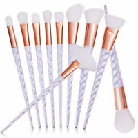 10pcs Unicorn Makeup Brush Set Professional Foundation Powder Cream Blush Brush