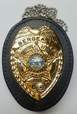 Miami-Dade Police Florida Badge Belt-Clip/Neck Hanger Combo (Badge Not Included