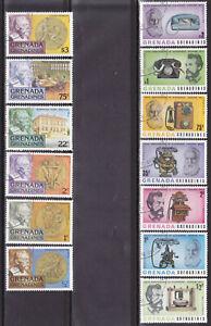 Grenada 2 komplette Sätze Thema: Erfinder: Graham Bell und Alfred Nobel C2008