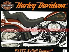HARLEY DAVIDSON FXSTC 1584 Softail Custom Gold Digger Dave COOK Les GT HD MOTO