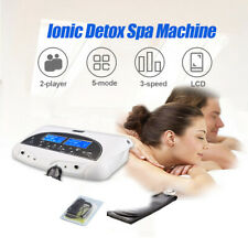 HD LCD Ionic Detox Ion Foot Bath Spa Health Machine With Cleanse Fir Belt AU