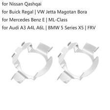 2 x H7 LED Headlight Light Bulb Adapter Holder Retainer For Audi BMW Nissan HOT