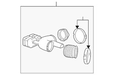 Genuine GM Outlet Duct 92196314