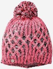 SPYDER WARM DONNA GIRL Moritz Hat Ski Winter Rosa Multicolore Taglia Unica A451