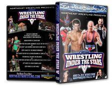 NEW Wrestling Under the Stars V Wappinger Falls, NY DVD-R,Cody Rhodes Kurt Angle