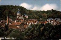 Bad Sooden Allendorf Hessen 1910 gelaufen nach Westerland Sylt Fachwerk Häuser