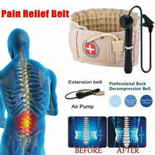 Spinal Air Traction Physio Decompression Back Belt Brace Lumbar Pain Remission