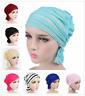 Muslim Women Ladies  Full Cover Hijab Turban Islamic Pleated Head Wrap Chemo Cap