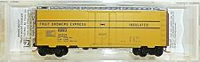 FRUTA Growers EXPR 40 Estándar BOX CAR Micro Trains 021 00 060 N 1:160 emb.orig