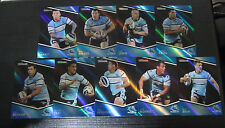 2014 NRL TRADERS CRONULLA SHARKS SPECIAL PARALLEL 9 CARD NEAR COMPLETE TEAM SET